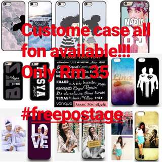 Custome case for all fon
