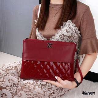 Chanel O'Case Vanity Combination Leather