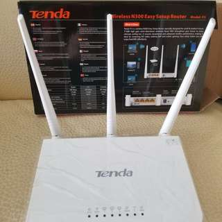 Tenda WiFi Router (300MB Speed)