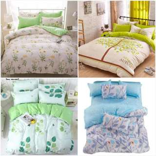 Fitted bed sheet Quilt cover set