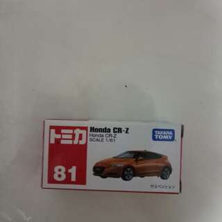 Tomica CRZ made in china