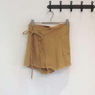 設計感一片式褲裙