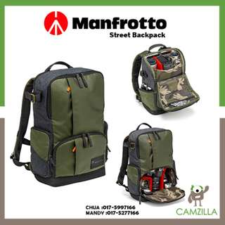 Manfrotto Street Medium Backpack for DSLR/CSC and laptop MB MS-BP-IGR
