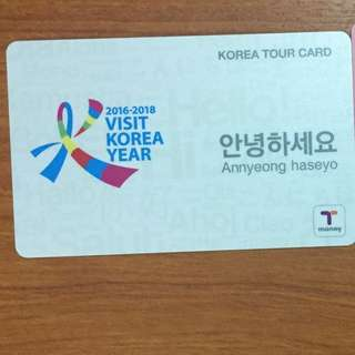 Tmoney Korea Transportation Card