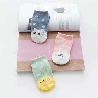貓貓,兔兔,鴨鴨可愛襪子