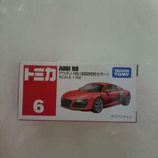 Tomica audi R8 first release colour