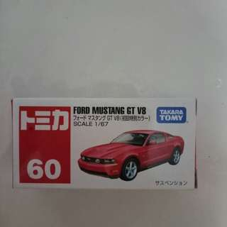 Tomica mustang first release colour