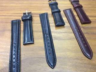 18mm Genuine Leather Watch Straps for Ladies Watch - Free Mail!
