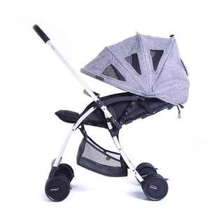 Baby Stroller / Pram Bon Bijou Lucas Grey