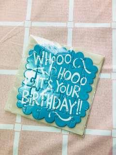 特別!拼圖生日咭 Birthday card