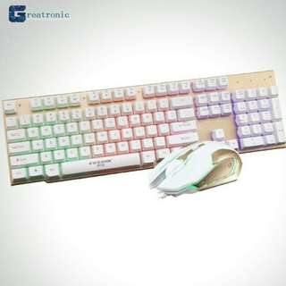 Keyboard w/mouse