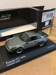 1/43 Porsche 911 Turbo. Minichamps
