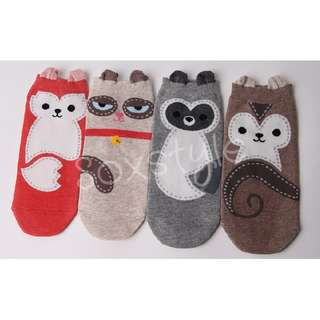 Stitch Animal Socks
