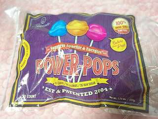 Diet candy! Power-pops