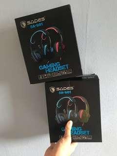 SADES GAMING HEADSET SA-901