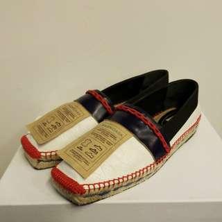 Balenciaga 38 espadrille flat shoes