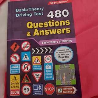 Basic Theory Test/ driving theory test book