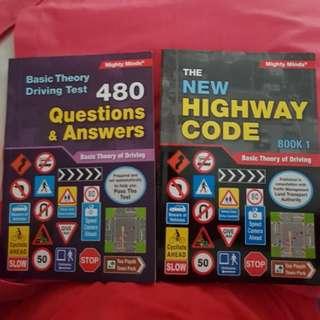BTT Book/ driving theory test book