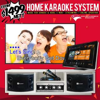 Home Karaoke System (Non-Streaming / Online Update)