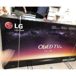"""全新LG OLED 65B7P 65""""4K 電視多部"""