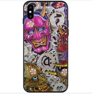 浮世繪,鬼頭手機殻,電話套