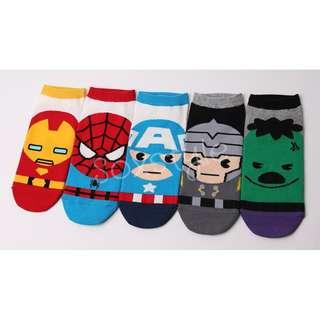 Super Heros Socks