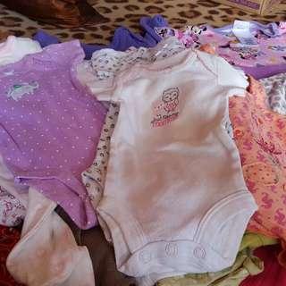 0-12M baby girl /21pcs