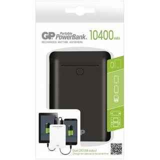 GP Batteries 10400 mAh - Black