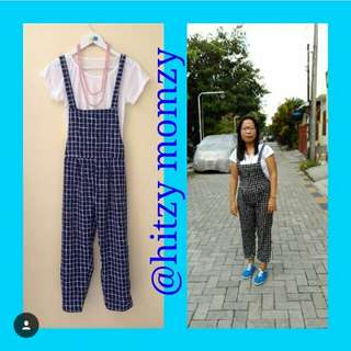 Jumpsuit Navy with Top