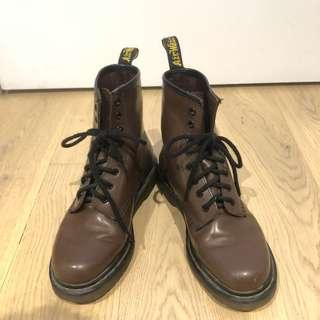 DR MARTENS Brown Women's Boots (EU 37)