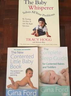 Books for taking care of babies