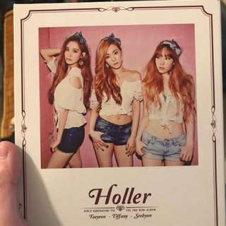 少女時代TTS-Holler mini album