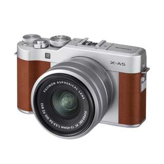 Fujifilm X-A5 with XC15-45mm F3.5-5.6 OIS PZ