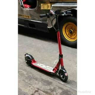 Electric scooter (tinker motors :glide model)
