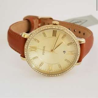 Fossil Brown Leather Women's Watch