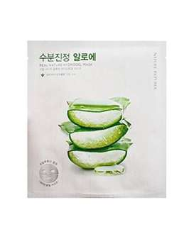 Real Nature aloe hydrogel masks