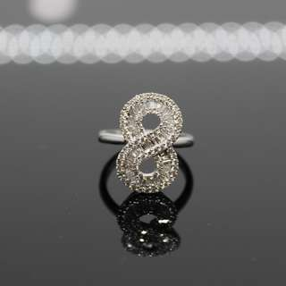 Hongkong Setting Infinity Diamond Set