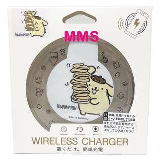 日本直送 布甸狗 pompompurin iPhoneX samsung s8 無線充電座 無線充電板 無線充電器