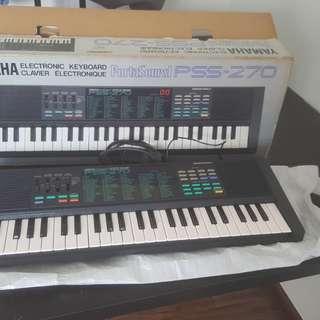 Yamaha pss-270 keyboard