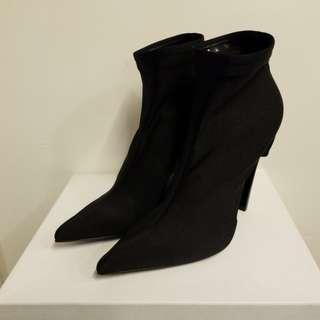 Balenciaga 39 Cuoio ankle boots