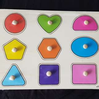 Shapes Wooden Puzzles