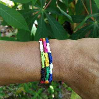 Friendship Bracelets - knotted by AMIR