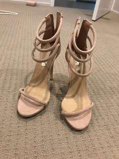 Showpo nude heels