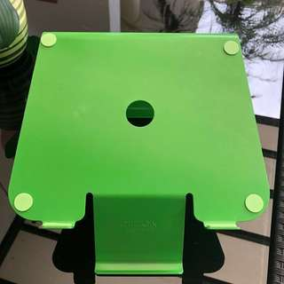 Laptop Stand with Phone Holder (green)