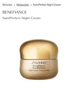 Shiseido Benefiance Nutriperfect Night Cream, 50ml