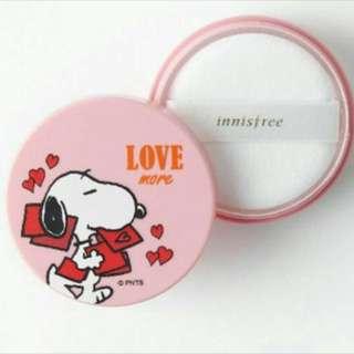 Snoopy Edition: Innisfree No Sebum Mineral Powder