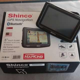 SHINCO GPS Navigator