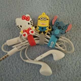 Character Earphone/Cable Clip