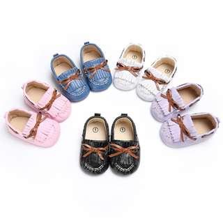 寶寶豆豆軟底學步鞋