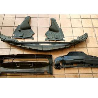 original from BMW f30 front bumper internal part .